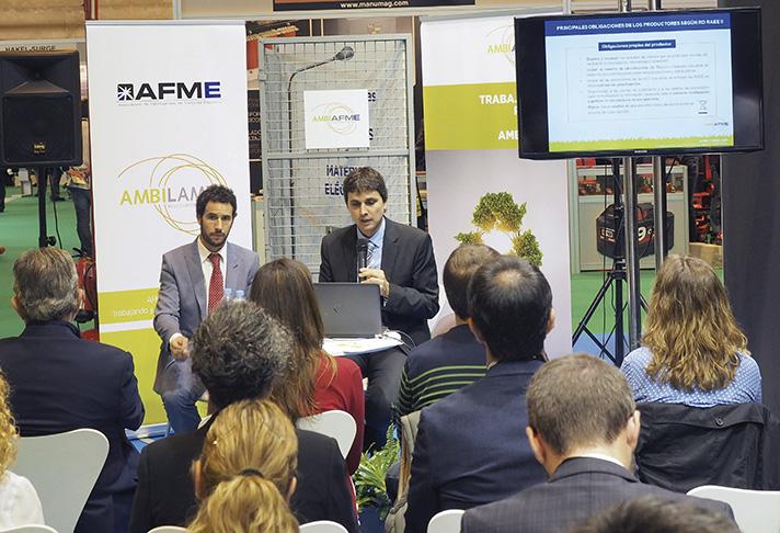 AMBILAMP y AFME han estado trabajando de manera conjunta en este proyecto
