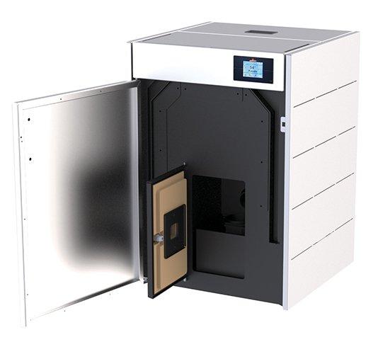 Nueva caldera de pellet de 18 kW ideal para espacios reducidos o para empotrar