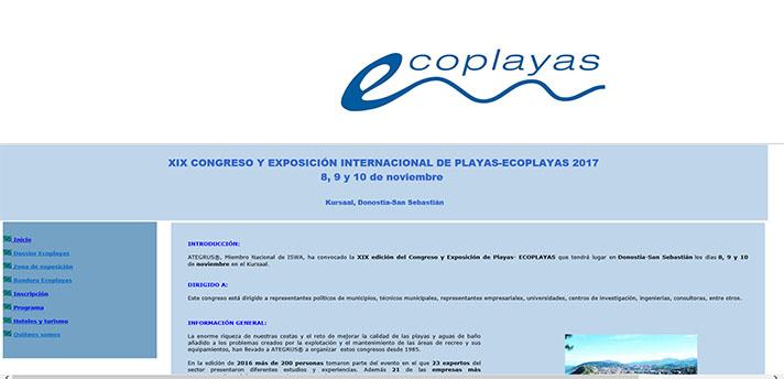 XIX Edición Congreso Ecoplayas 2017