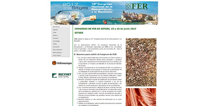 15º Congreso Nacional de la Recuperación y el Reciclado