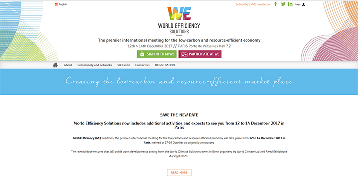 World Efficiency Solutions 2017