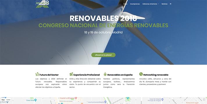 Congreso Nacional de Energías Renovables 2018