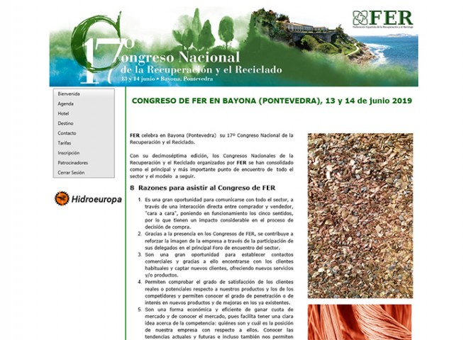 17º Congreso Nacional de la Recuperación y el Reciclado