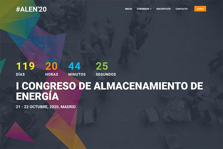 I Congreso de Almacenamiento de Energía - #ALEN´20