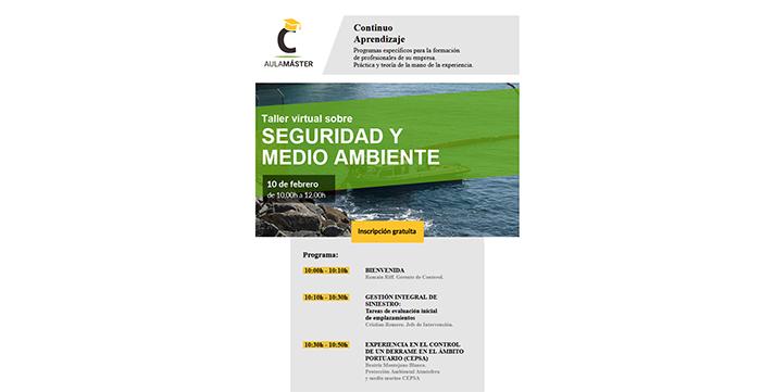 Taller virtual sobre Seguridad y Medio Ambiente