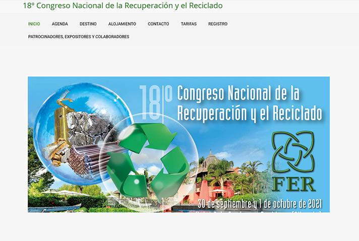 18º Congreso Nacional de la Recuperación y el Reciclaje