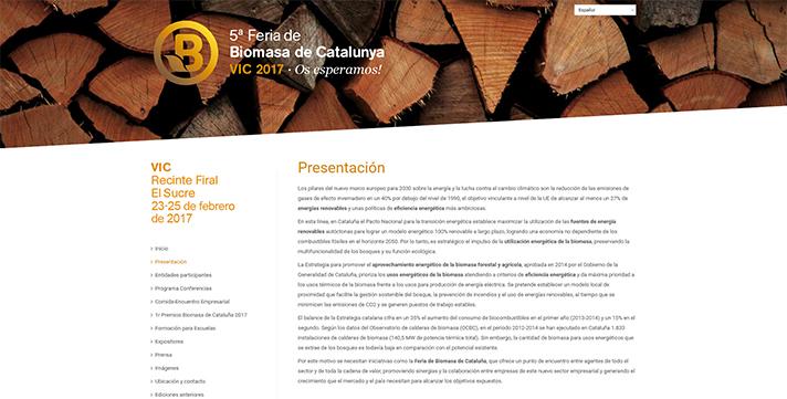 5ª Feria de Biomasa de Cataluña