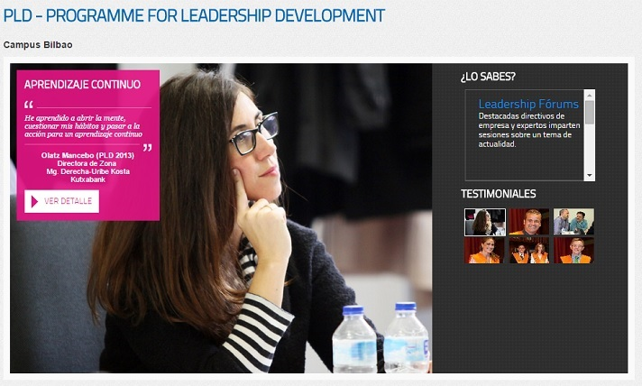 PLD (Programme for Leadership Development)