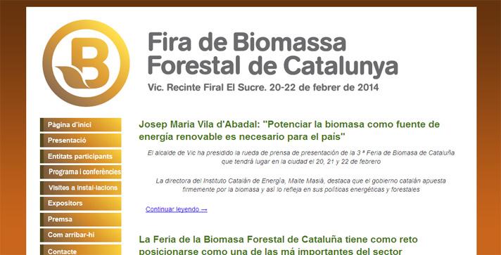 Fira de Biomasa Forestal de Cataluña
