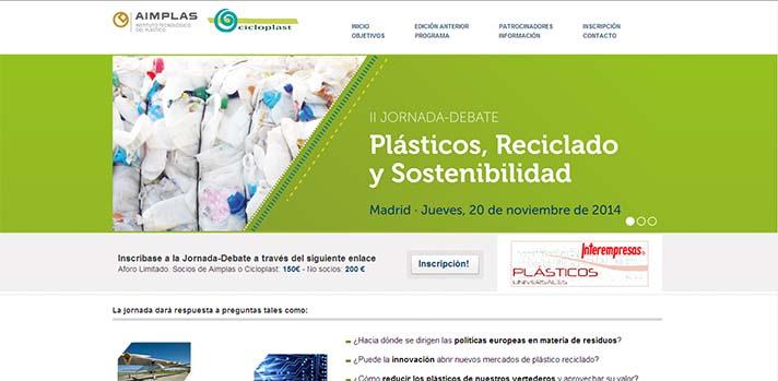 Jornada Plásticos, Reciclado y Sostenibilidad