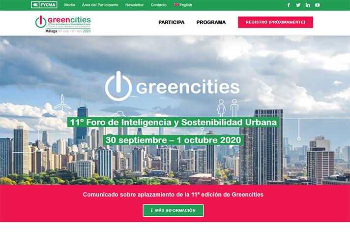 Greencities, 11º Foro de Inteligencia y Sostenibilidad Urbana