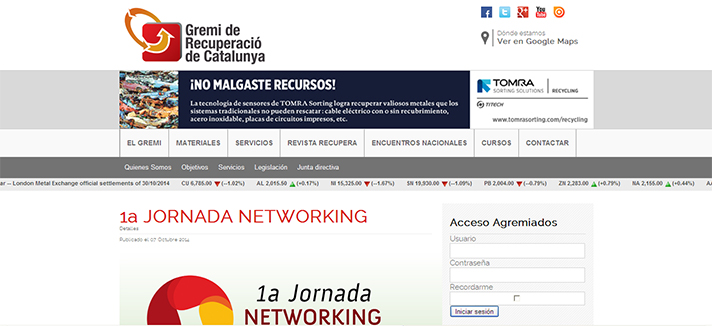 1ª Jornada Networking