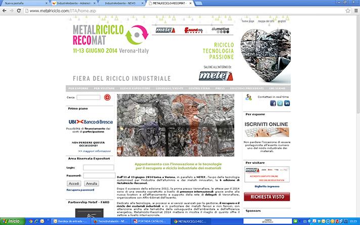 Feria MetalRiciclo Recomat