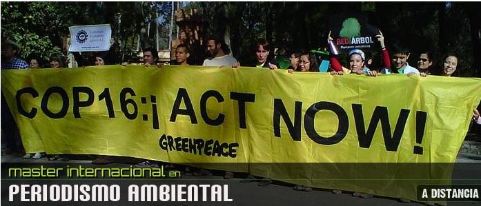 Máster Internacional en Periodismo Ambiental