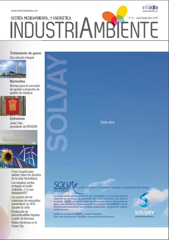 IndustriAmbiente Julio/Septiembre 2014