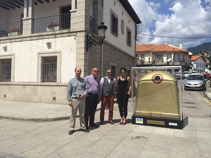 Este municipio es el segundo ganador mensual de esta competición que se desarrolla entre marzo y septiembre en la Sierra de Guadarrama para impulsar el  reciclado de envases de vidrio