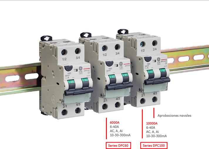 RCBO UnibisTM Compact de GE Industrial Solutions