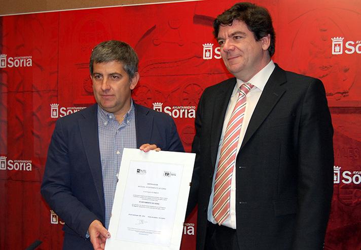 Soria recoge 1.103 toneladas de papel y cartón (hogares, pequeño comercio y punto limpio) para su reciclaje al año