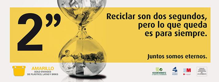 El objetivo es transmitir a los ciudadanos la importancia que tiene su colaboración en el reciclaje de envases