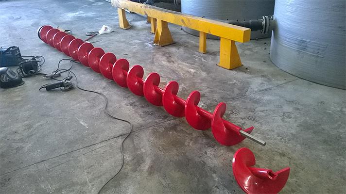 Safer-Tech suministra tornillos modulares Archimedys para sus instalaciones