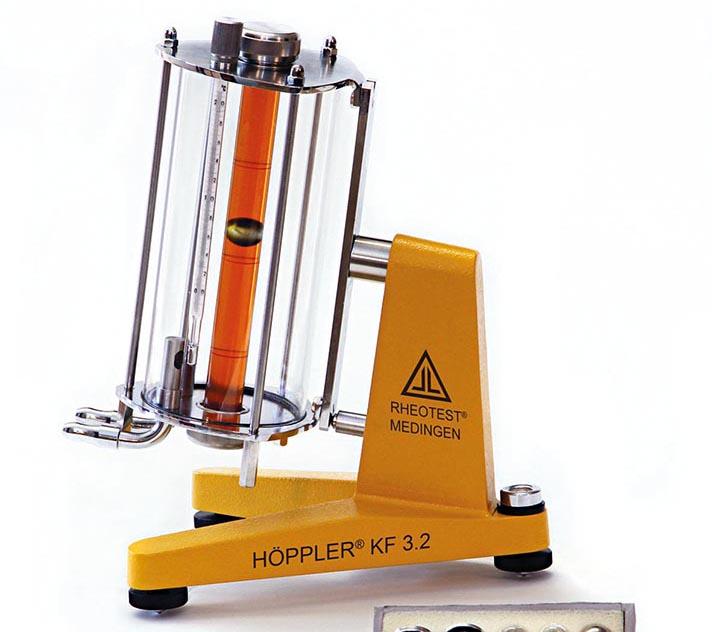 Una de las aplicaciones de este viscosímetro de laboratorio es para la industria papelera