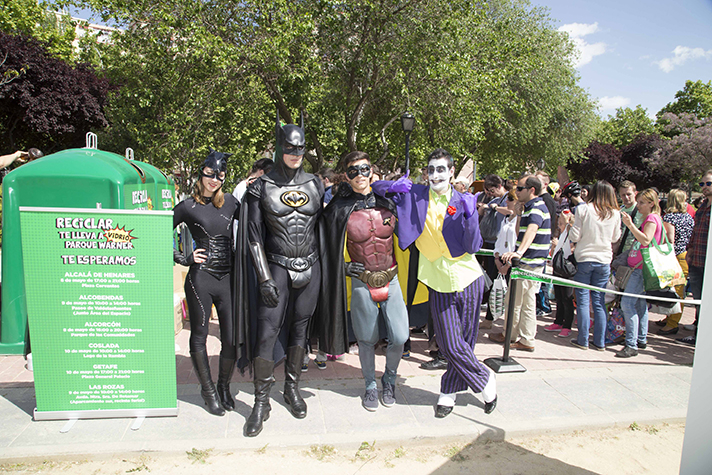 Ecovidrio ha entregado hasta 9.000 entradas para disfrutar de una jornada en Parque Warner