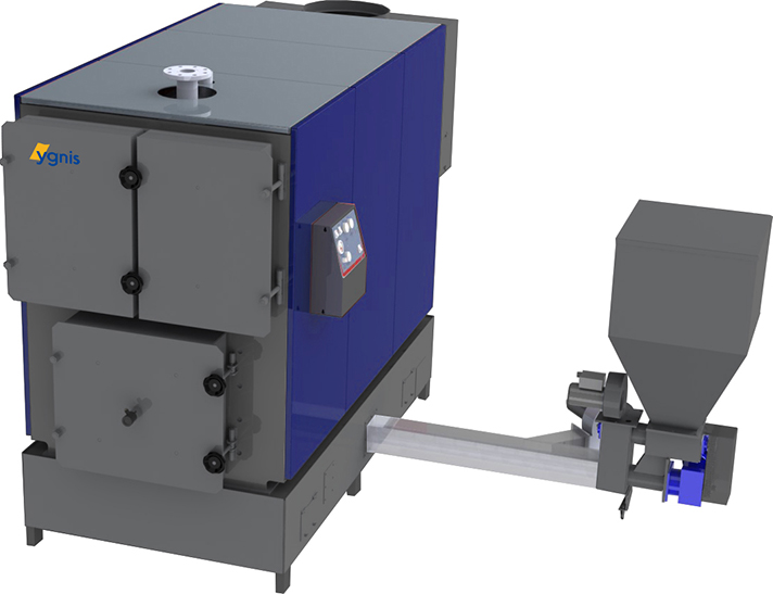 Varfire, caldera de biomasa para instalaciones industriales