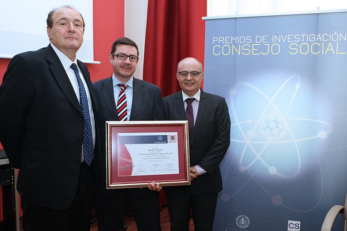 Urbaser y Socamex han ganado el Premio de Investigación 2015
