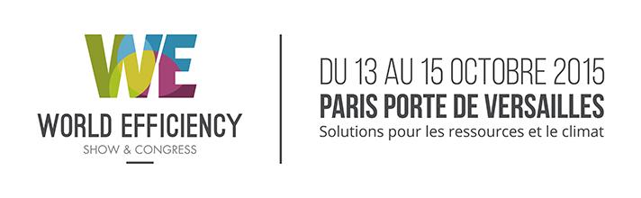 El Salón World Efficiency se celebra en París del 13 al 15 de octubre