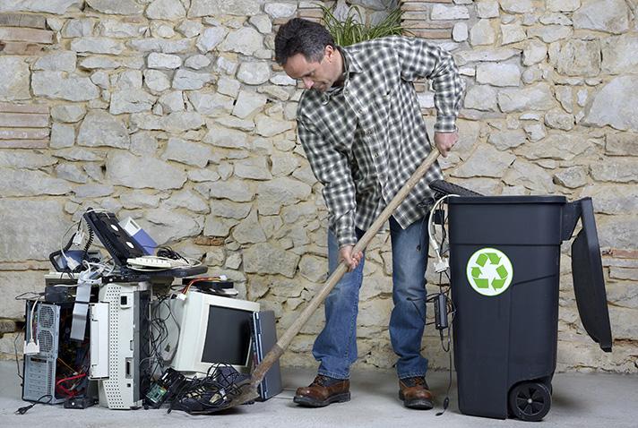 Un informe de la UE desvela que sólo el 35% de los residuos electrónicos europeos se gestionan correctamente