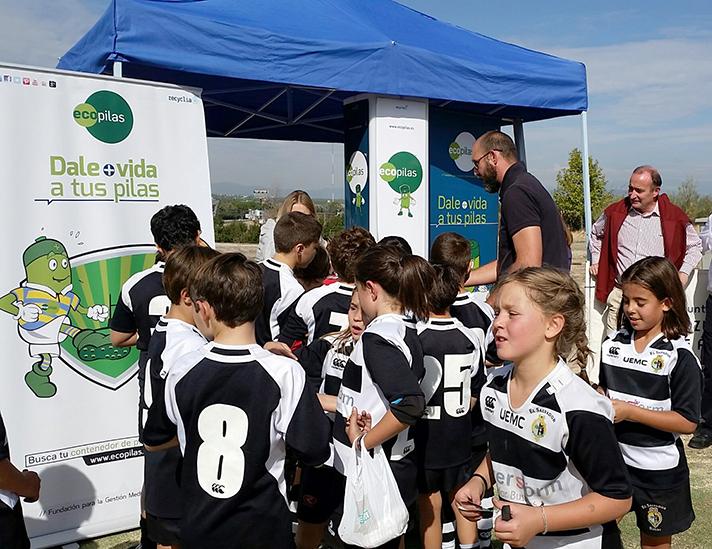 La fundación ha participado en nueve eventos deportivos en 2015