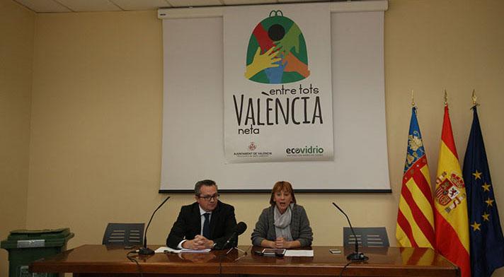 El Plan Valencia Recicla Vidrio se presentó el pasado 4 de noviembre