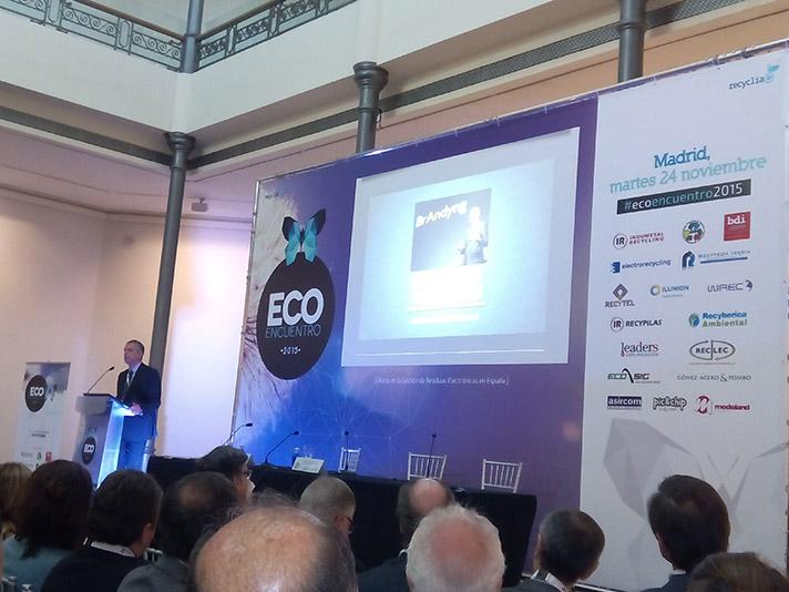 Imagen del EcoEncuentro2015, la reunión anual de Recyclia