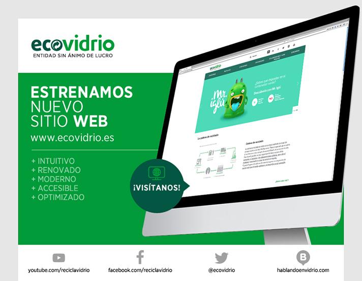 La nueva web cuenta con un diseño más visual con información estructurada para lograr una navegación más intuitiva