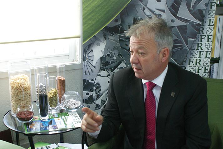 Ion Olaeta, presidente de FER