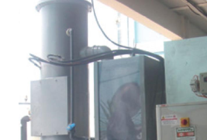 Hervaporador, sistema de evaporación atmosférico para el tratamiento de aguas residuales