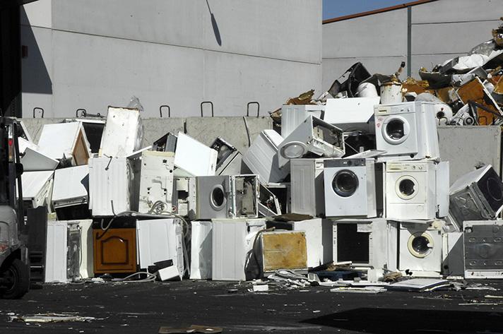 Los fabricantes adheridos a Recyclia pusieron a la venta más de 73.400 toneladas de aparatos electrónicos el pasado año