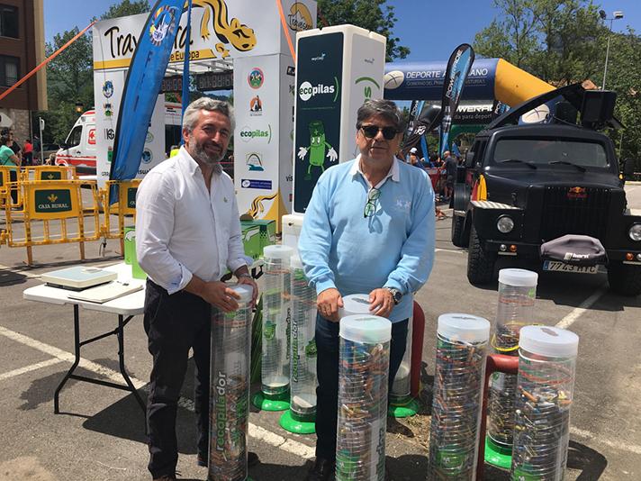 La fundación Ecopilas es pionera en desarrollar campañas de concienciación sobre el reciclaje en eventos deportivos