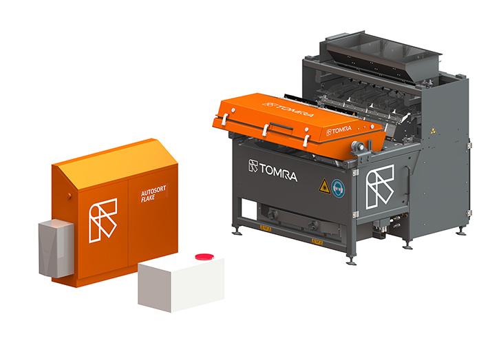 Nuevos equipos de TOMRA Sorting Recycling en SRR 2016