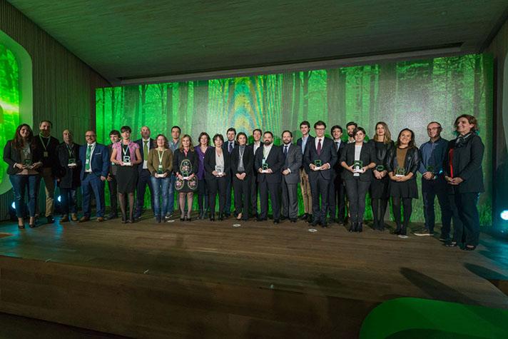 Biotherm, los periodistas Angelo Attanasio y Jerónimo Giorogi, Alhóndiga La Unión, el Ayuntamiento de Santiago de Compostela y L´estoc SCCL han sido los ganadores  en las cinco categorías de estos galardones