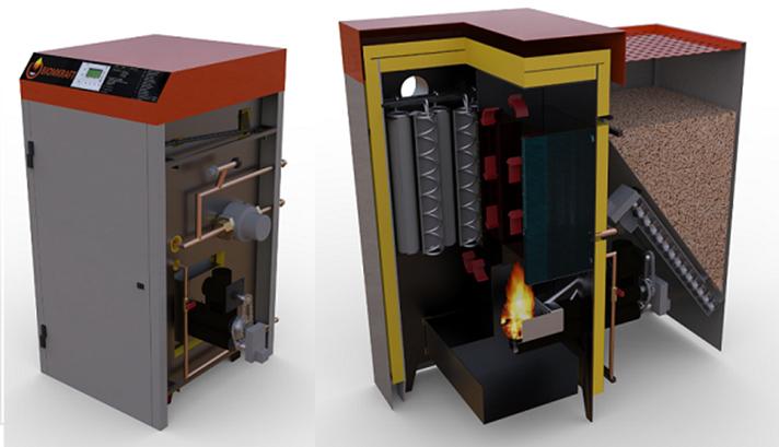 Calderas de biomasa Biomkraft