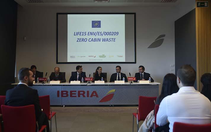 Life + Zero Cabin Waste reúne a Iberia, Ecoembes, Gate Gourmet, Ferrovial Servicios, Biogas Fuel Cell y ESCI-UPF para mejorar el reciclaje de residuos de catering de las compañías aéreas