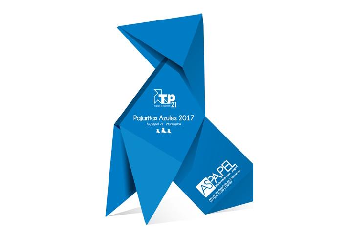Seis entidades locales obtienen el máximo reconocimiento con tres Pajaritas Azules, quince reciben dos Pajaritas Azules y ocho obtienen una