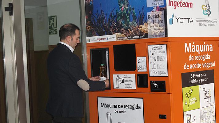 Las Envirobanks son unas máquinas expendedoras destinadas al reciclaje