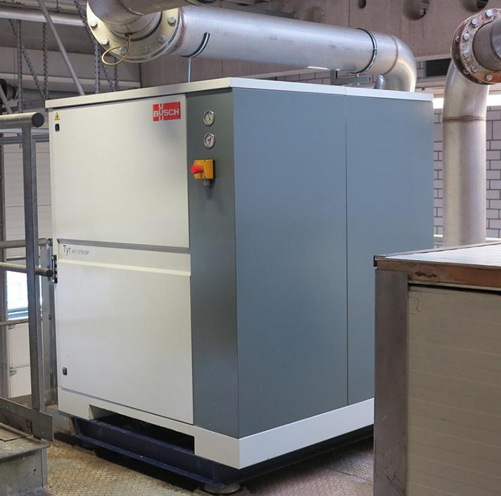 Máximo ahorro energético en la extracción de residuos en aviones con Busch