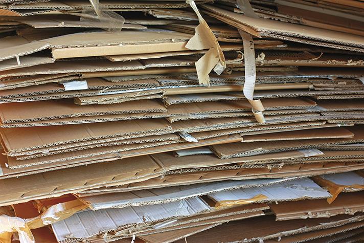 El 68% del papel para reciclar utilizado como materia prima es de procedencia local