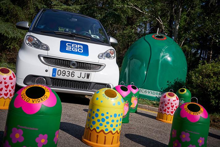El reciclaje de vidrio evita la emisión de más de 500.000 toneladas de CO2 y la movilidad sostenible evita emisiones de CO2