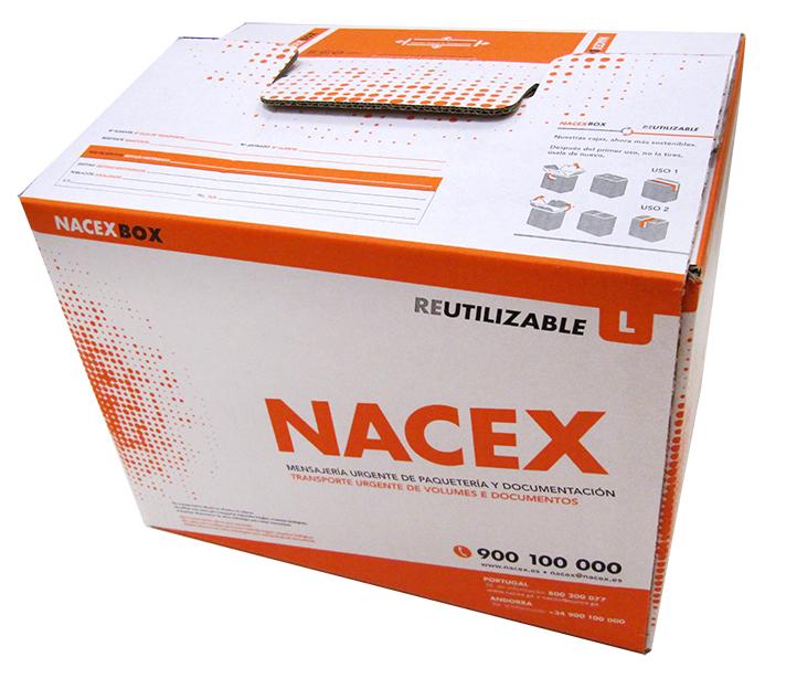 Embalaje reutilizable de Nacex