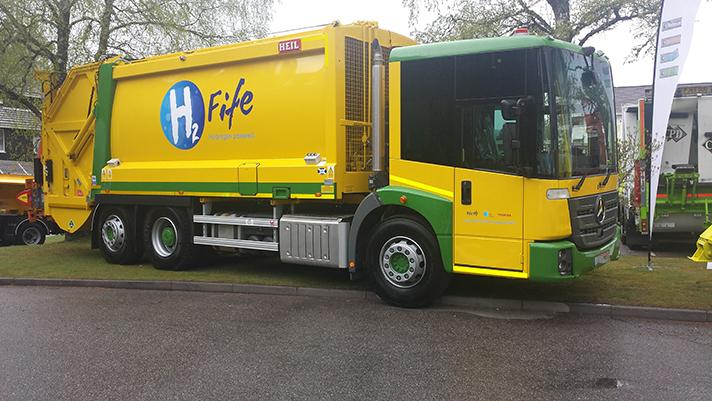 Vehículos dual-fuel equipados con transmisiones completamente automáticas Allison
