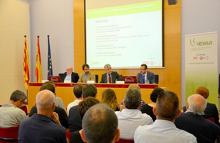 """Presentación del estudio elaborado por el Instituto Cerdà, sobre """"Reciclado y valorización de residuos en la industria cementera en España"""""""
